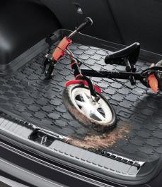 Килимок гумовий в багажник Sportage QL